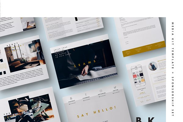 Blog Media Kit + Sponsorship | 8 Pg…