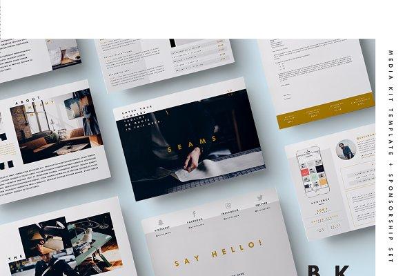 Blog Media Kit + Sponsorship | 8 Pg…
