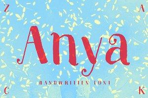 Anya – Beautiful Handwritten Font