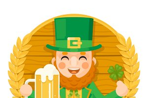 Leprechaun Saint Patrick Day