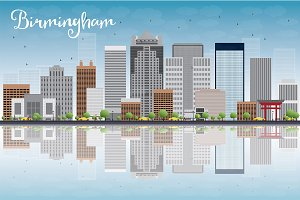 Birmingham (Alabama) Skyline