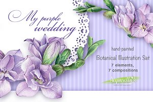 My Purple Wedding