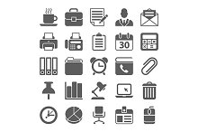 Office and Business Icons