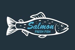 Salmon icons