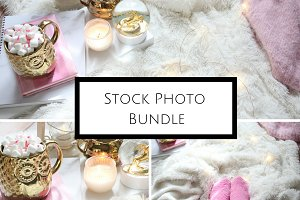 Cozy Bedroom Stock Photo Bundle