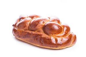 Fresh loaf of challah