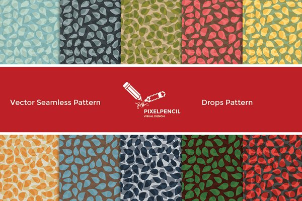 Seamless Drop Pattern