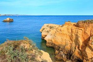 Atlantic rocky coast, Portugal