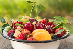 Summer fruits
