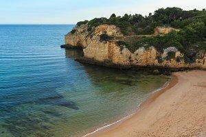Praia dos Tremocos (Portugal).