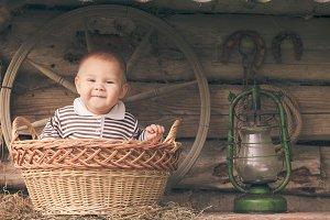 Rural retro still life