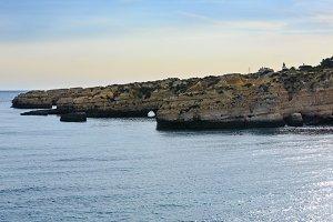 Atlantic rocky coast, Portugal.