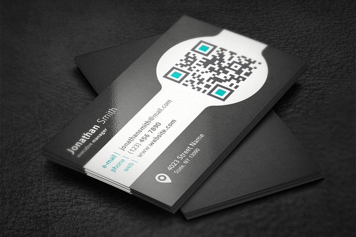 Unique business card business card templates creative market colourmoves Image collections