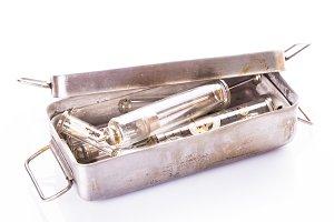 Retro syringe
