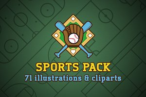 Sports pack / Illustrations Clipart
