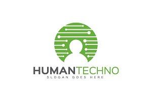 Human Techno Logo
