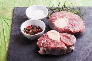 Cross cut veal shank