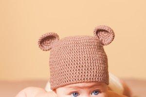 Adorable baby bear