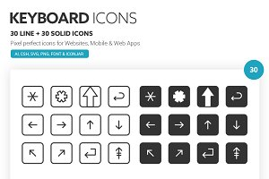 Keyboard Icons