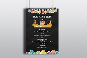 Happy Easter Menu Flyer-V506