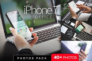 iPhone 7 office photo pack/ 40+pics