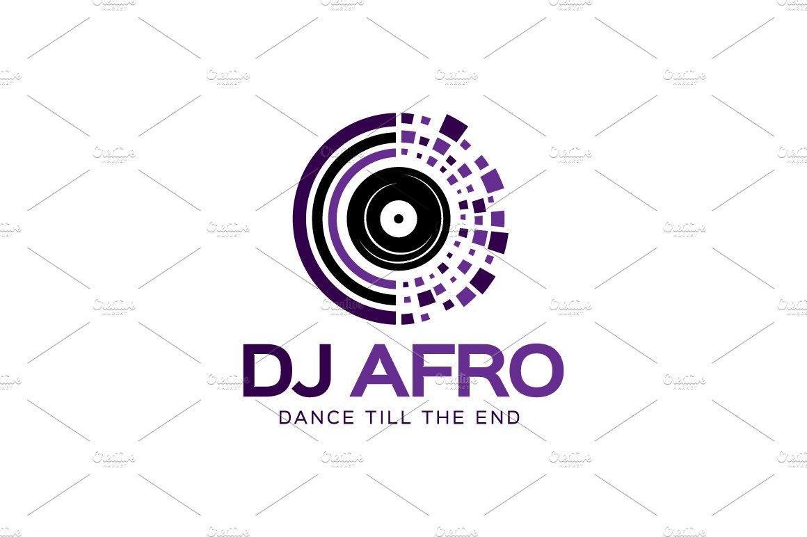 dj afro logo logo templates creative market