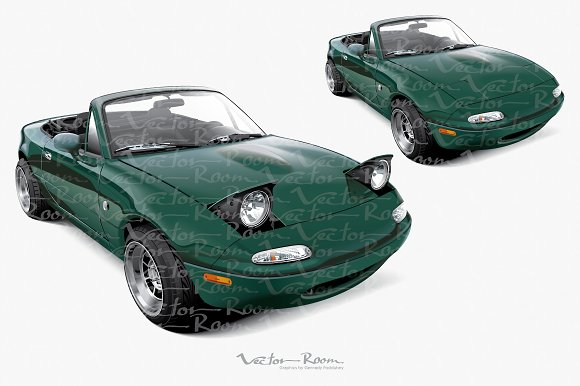 Lightweight Two-seater Roadster