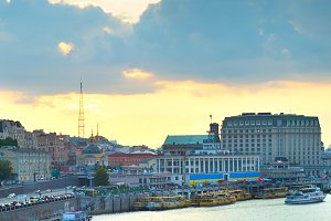 Kiev boat trip, Ukraine