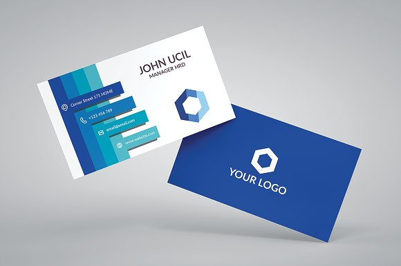 Corporate Business Card Template Business Card Templates - Template of business card