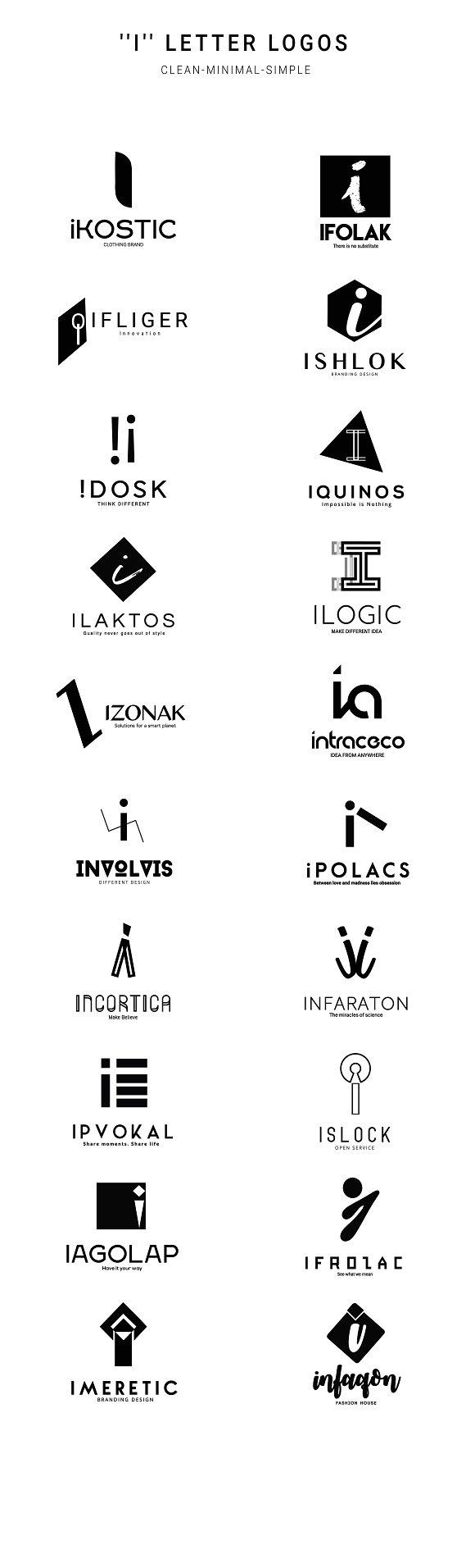 520 A to Z Logos Bundle