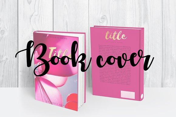 Book Template Book Cover Design