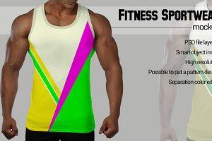 Black man Sportwear Mockup