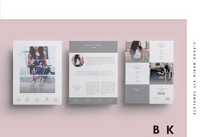Social Media Kit Template Set | 6Pgs