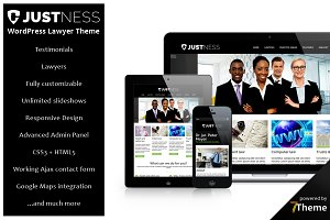 Justness - responsive Lawyer Theme