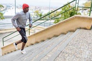 Sport black man