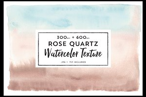 Rose Quartz Watercolor Background