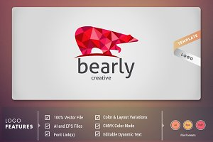 Bearly - Logo Template
