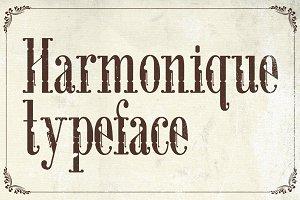 Harmonique Typeface