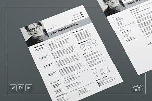 Resume/CV - Grayson