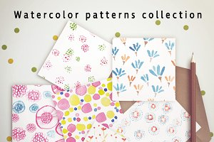 Watercolor patterns Vol.1