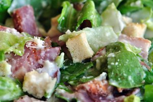 Lettuce Bacon Salad