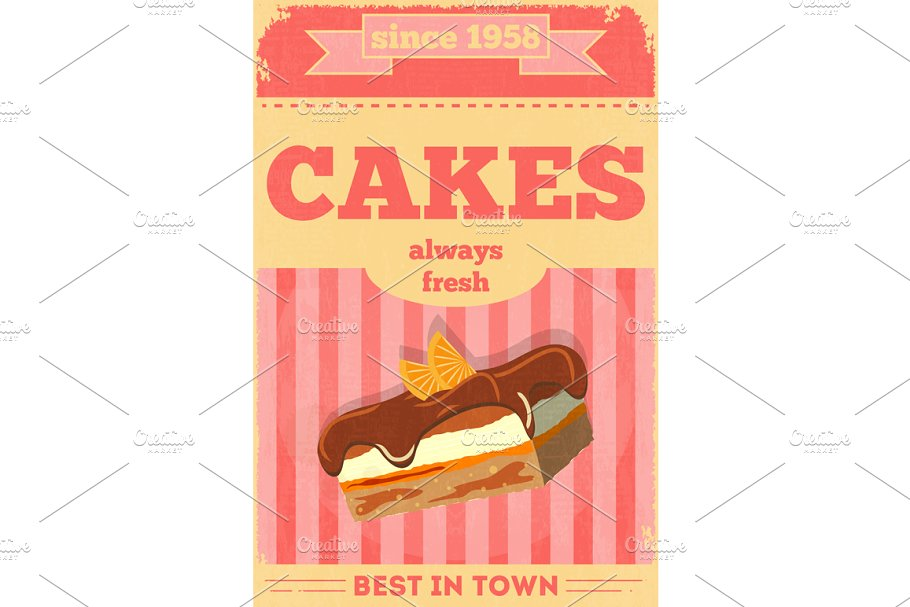 Food Posters in Illustrations - product preview 8