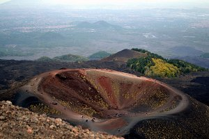 The colors of Volcano Etna in Sicily