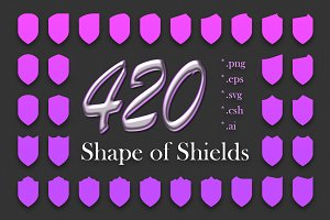 420 Shapes of Shields