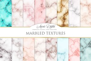 Abstract Marble Textures