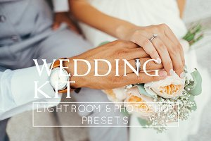 20 Wedding LR & PS Presets
