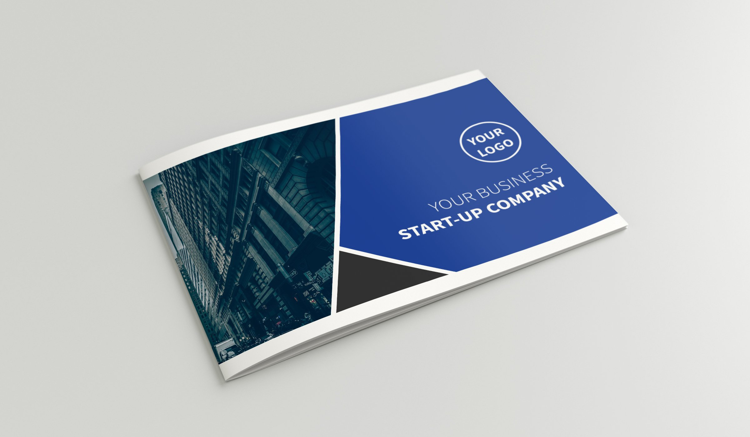 A Company Profile Brochure Templates Creative Market - Mini brochure template