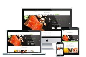 WS DESUSHI - Sushi Wordpress Themes