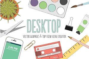 Desktop Vector Scene Creator