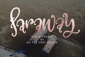 Faraway SVG Alphabet